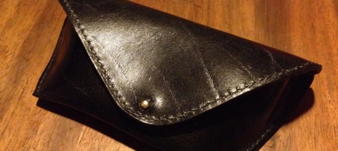 【新商品】手縫いサングラスケース
