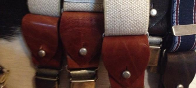 工房の紹介-vol5- Suspenders