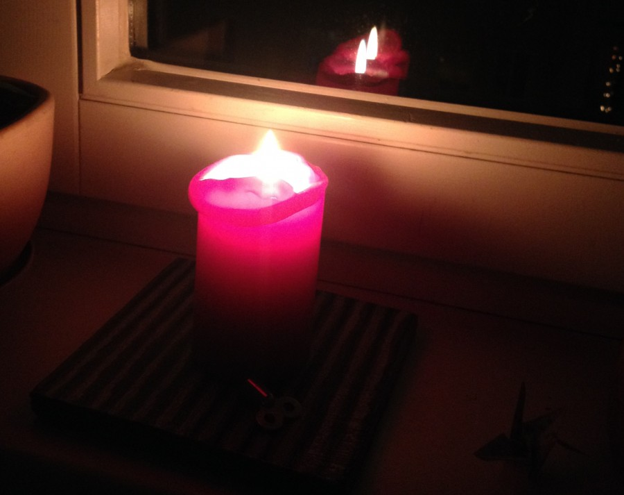 candle-night