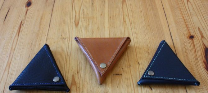 New color is available! Triangle coin purse!!