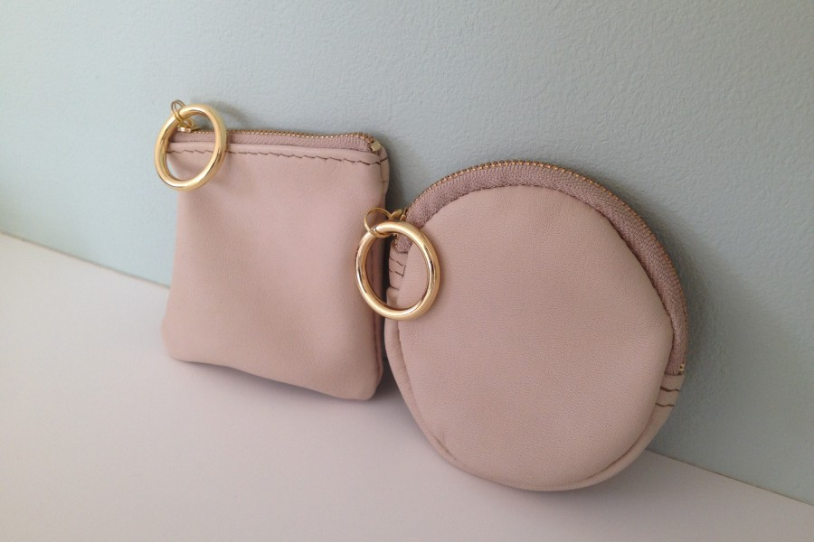 New! [order made] mini purses for coin & notes.