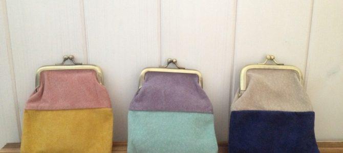 Bicolor mini purse collection! ミニポーチコレクション!