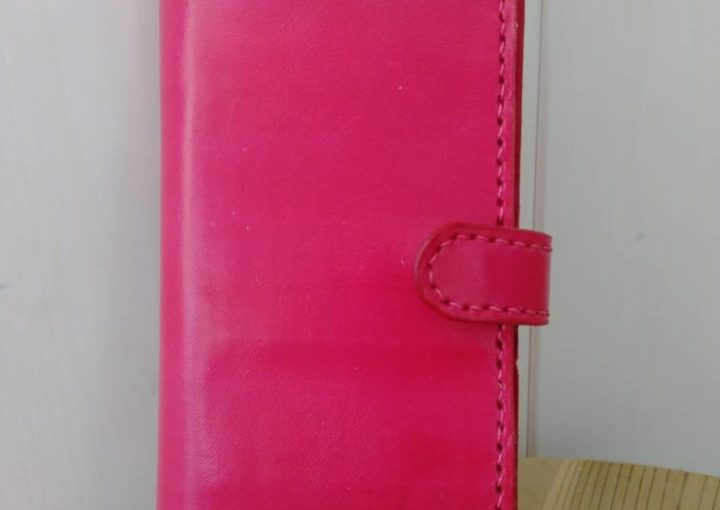 Bespoke magenta pink smart phone case